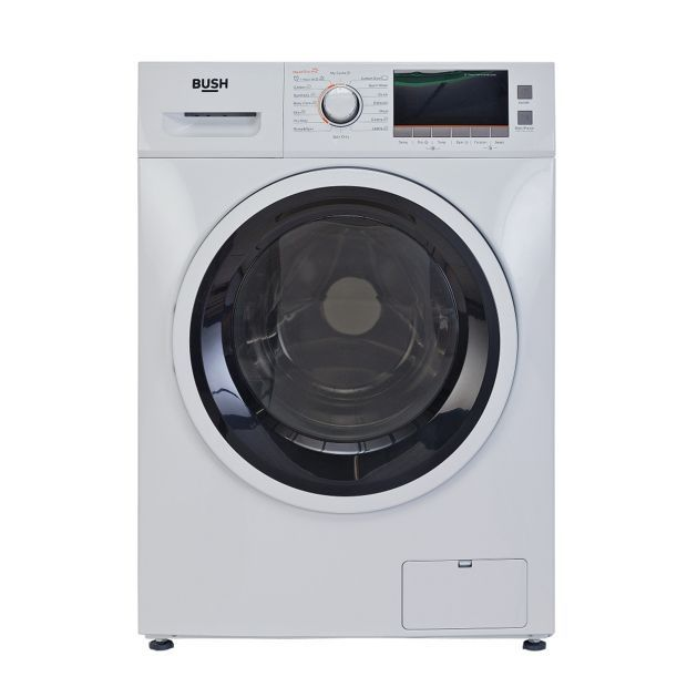 Buy Bush WDNSX86W Washer Dryer - White at Argos.co.uk, visit Argos.co.uk to shop online for Washer dryers, Large kitchen appliances, Home and garden