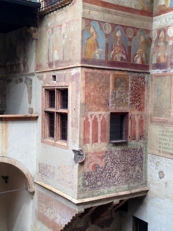 Affreschi ammirati dalla Loggia Veneziana