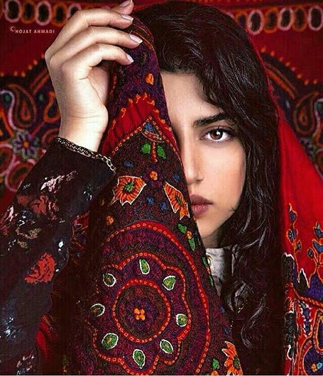 Pateh (Persian: پته, IPA: pæte; also Romanized as pateh) is an Iranian traditional needlework folk art. It originated in and is largely associated with Kerman province, where it is produced by women. A wide piece of wool fabric (ariz) is needleworked with colored thread. Pateh needlework is done in silk and with flourish paisley pattern; popular designs include the cypress tree and the sun, both traditional pre-Islamic Persian symbols