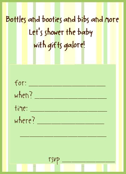 10 best images about free baby shower invitations templates on – Baby Shower Invite Template