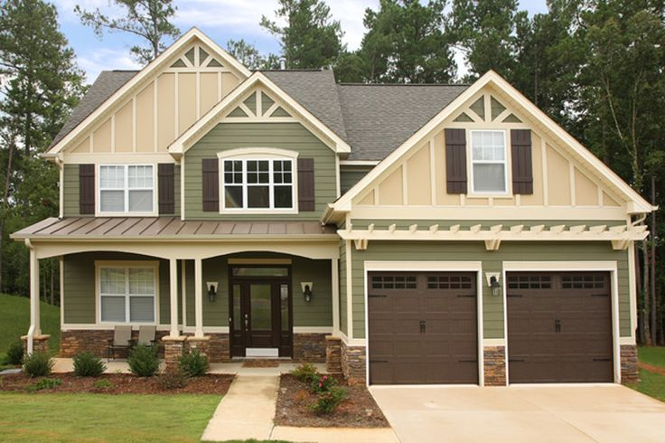 25 best ideas about brown roof houses on pinterest home exterior colors exterior paint - Long lasting exterior paint design ...