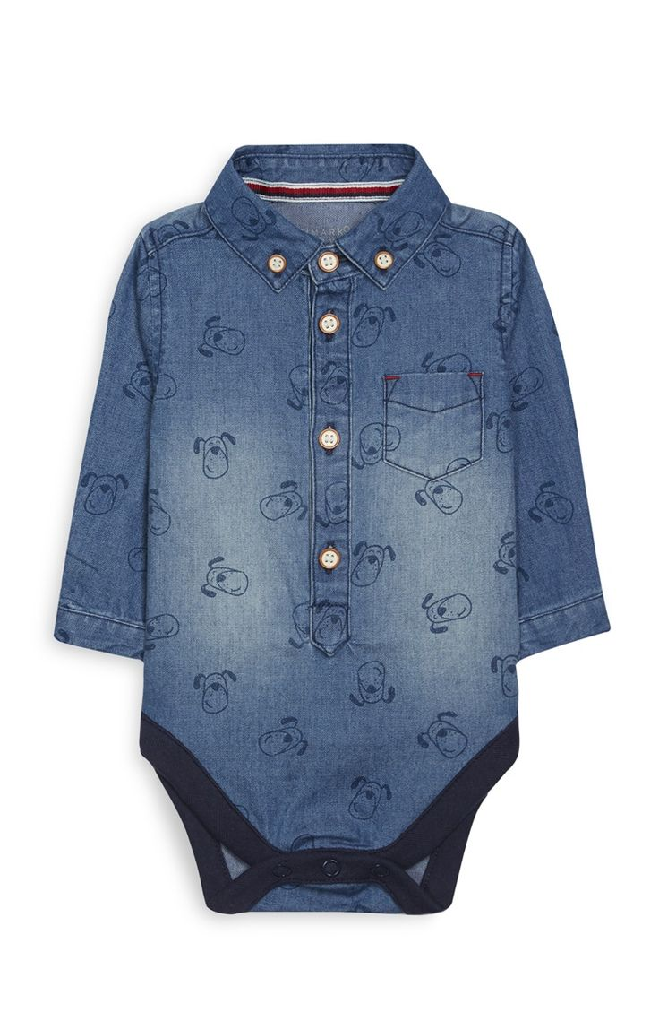 Primark - Newborn Boy Denim Shirt