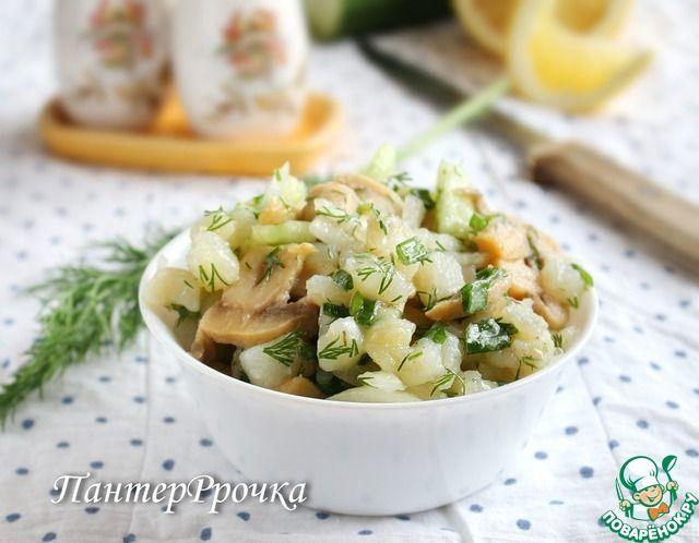 Картофельный салат по-новому ингредиенты