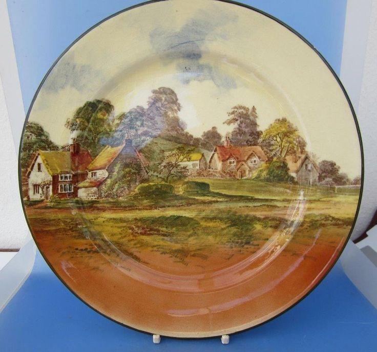 Royal Doulton Series Ware Rack Plate Rural England