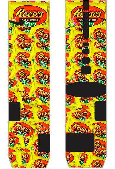 Easter Reeses Parody Custom Nike Elite Socks by LuxuryElites, $35.99