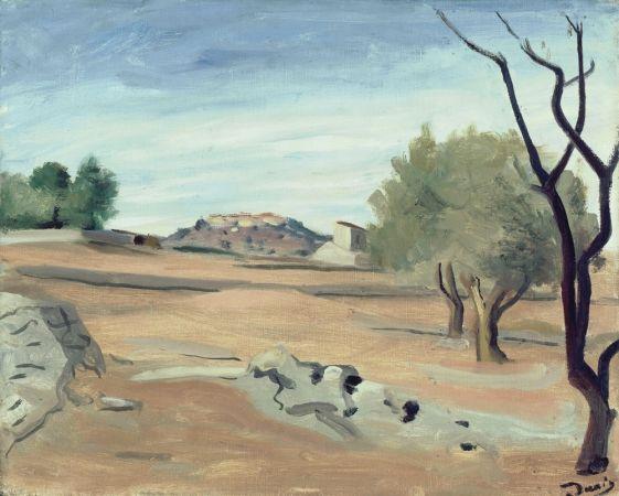 Andre Derain: Paysage de Provence (1930)
