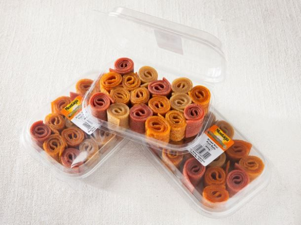 These mini dried fruit roll-ups are great as an on-the-go snack or as a treat for your little ones lunchboxes! Check out our range here: http://bit.ly/29aaKJa