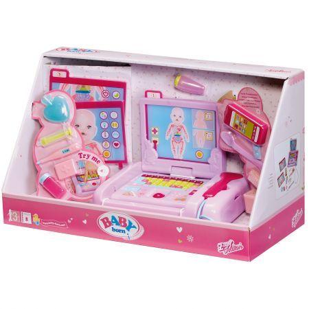 Zapf Baby born Elektronikus Orvosi készlet babák