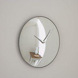 Espelho convexo com relógio JOSÉ LEVY para Bensimon