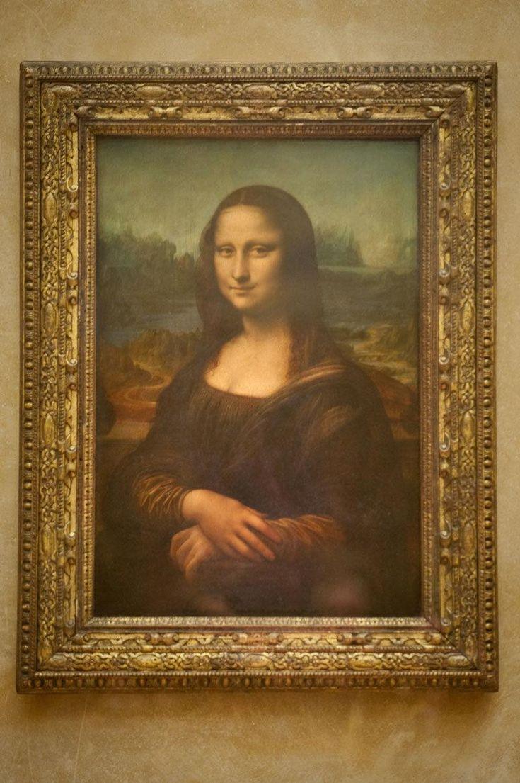 La Gioconda, también conocida como La Mona Lisa - Leonardo da Vinci