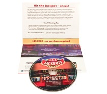 DVD in #4-panel self Mailer Jacket - Four-Panel Self Mailer #Jackets for #DVD