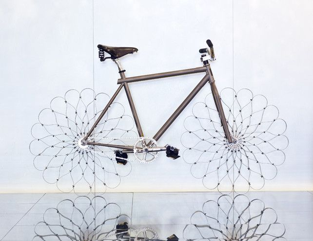 Ron Arad Bicycle - with wheels made of steel!