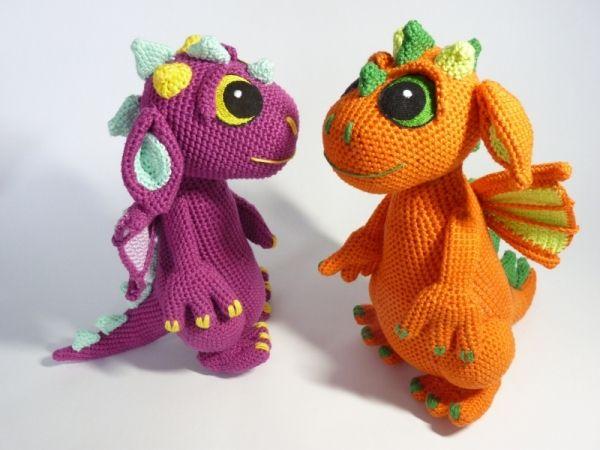 Dragon Lipp Amigurumi Pattern