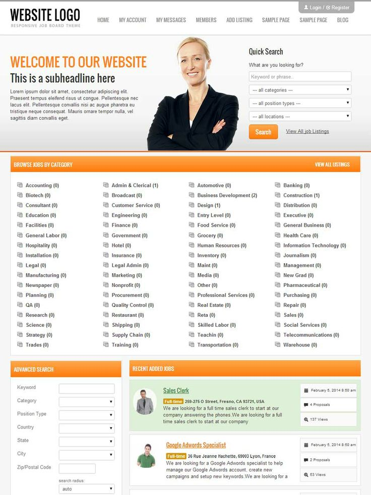 30 best job board theme images on Pinterest | Board, Sign and ...