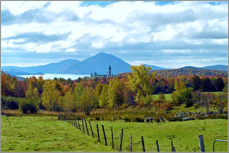 My favourite place in the entire world: Magog, Quebec