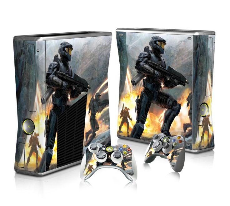 Halo 3 for PC sticker skin for Xbox 360 slim