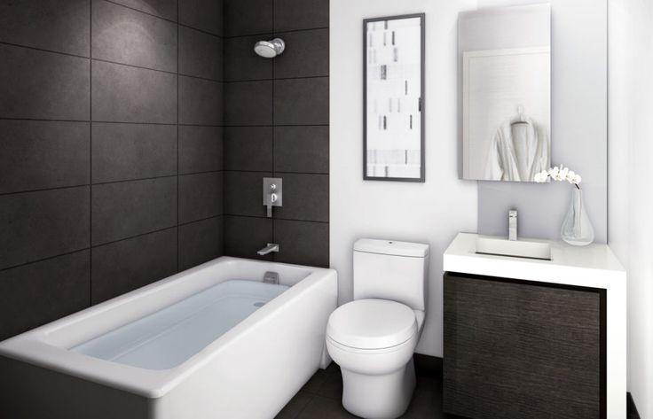 White Modern Washing Machine Black And White Bathroom Rugs ...
