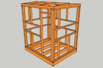 How to build a deer stand plans included deer stand for Octagon deer blind plans