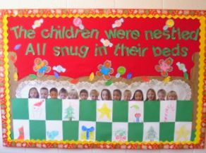 The Night Before Christmas Bulletin Board Instructional