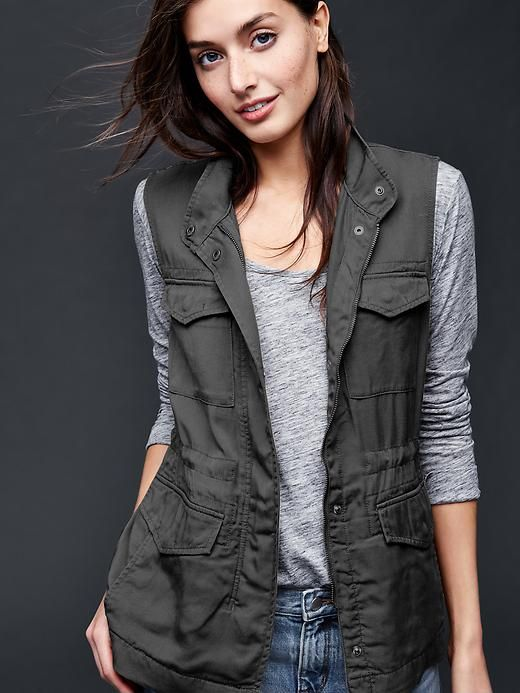 Tencel®utility vest