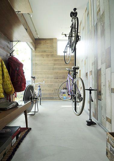 男の隠れ家のような趣味室はご主人のお気に入りの場所