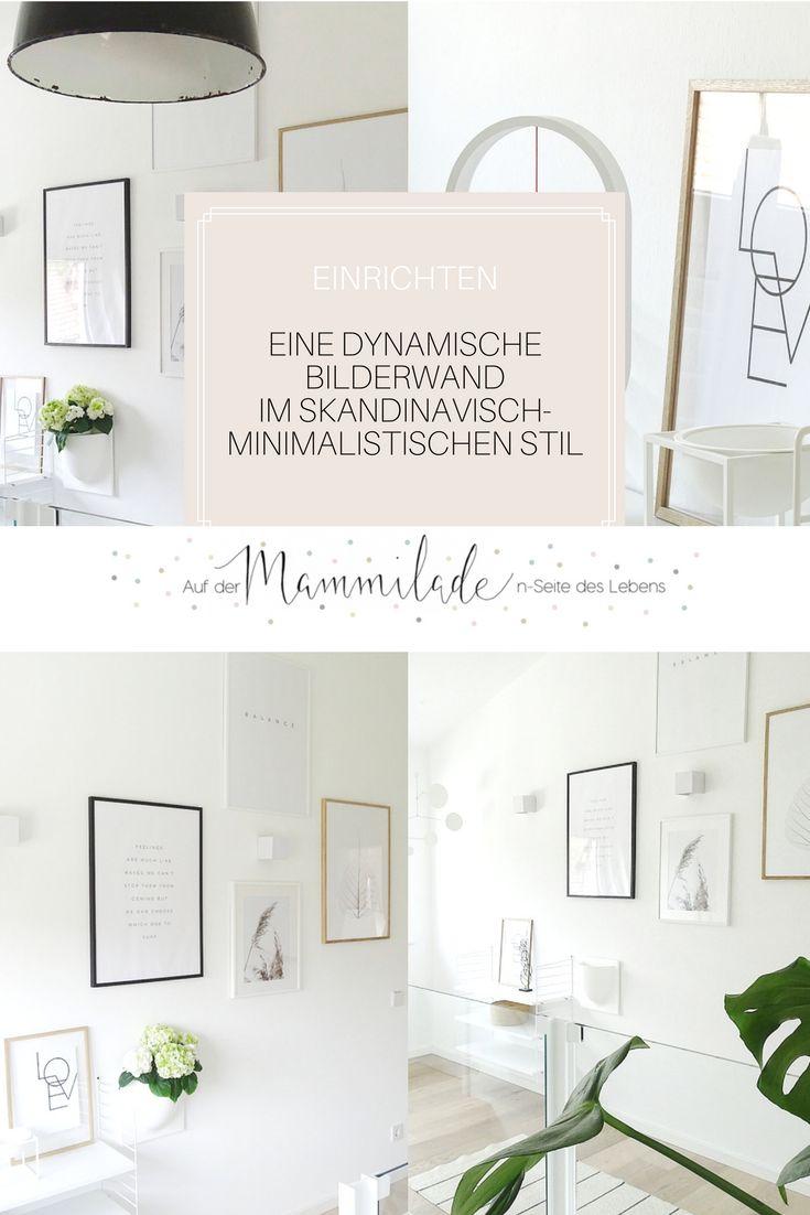 83 best on my blog images on pinterest - Bilderwand skandinavisch ...