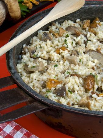 'Risotto 101' -- Lidia Bastianich's Basic Risotto with Variations