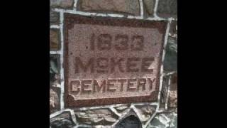 McKee Cemetery Dufferin Co. Ontario - Individual Tombstones, via YouTube.