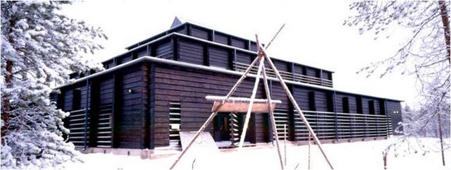Archeological museum at Kierikki, Yli-Ii, Finland.