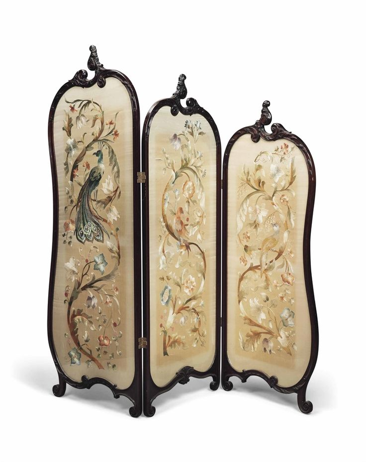 french fireplace screens. A SINO FRENCH MAHOGANY AND SILK THREE FOLD SCREEN  CIRCA 1900 373 best DRESSING N FIREPLACE SCREENS images on Pinterest