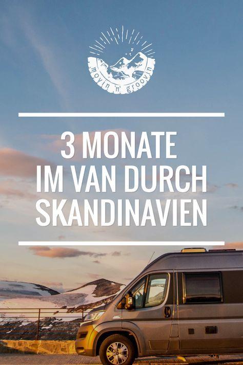 Rentiere, Nordlichter & Luftgitarren - Highlights meiner Reise durch Norwegen, Schweden & Finnland. Skandinavien im Campervan / Wohnmobil - ein Traum!