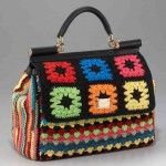 More Dolce  Gabbana Crochet Handbags I want - nay, I MUST learn how to make this!!!