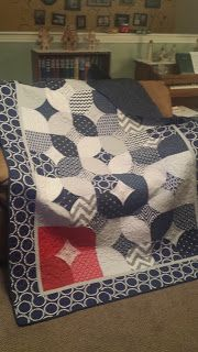 10 Minute quilt block - really easy and fast but looks good.