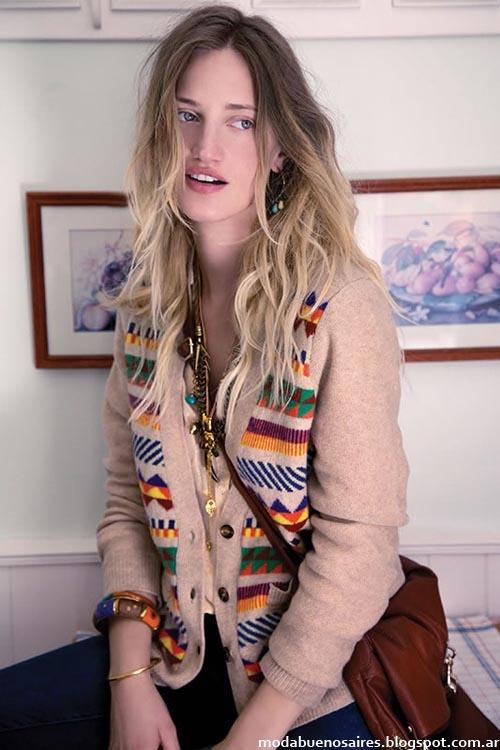 India Style sacos moda invierno 2013