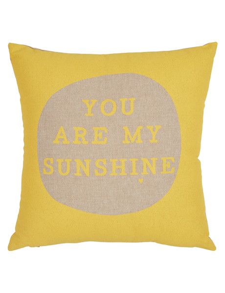 Add a chic and sophisticated touch to your living area with the Sunshine cushion from the Haven Gallery range.