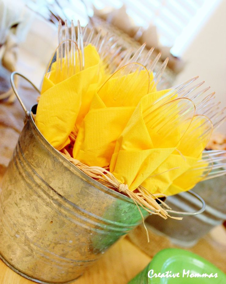 country baby shower | Yellow & Green Country Baby Shower