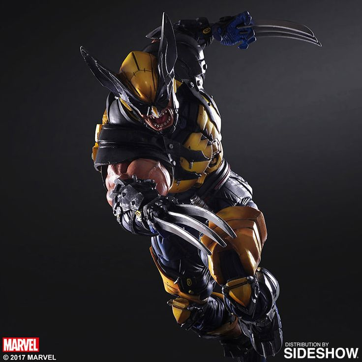 Marvel Wolverine Collectible Figure by Square Enix | Sideshow Collectibles