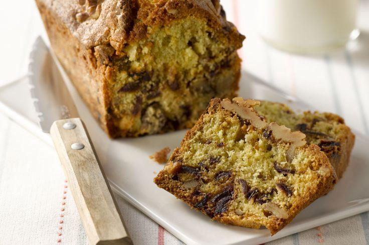 Deze dadel-notencake is een echt energiebommetje, en tegelijkertijd ook heel gezond. Ideaal als ontbijt, of als tussendoortje bij een dipje.