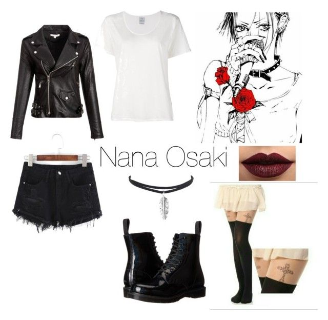 """Nana Osaki casual cosplay"" by haru-chan-bunny on Polyvore featuring art"