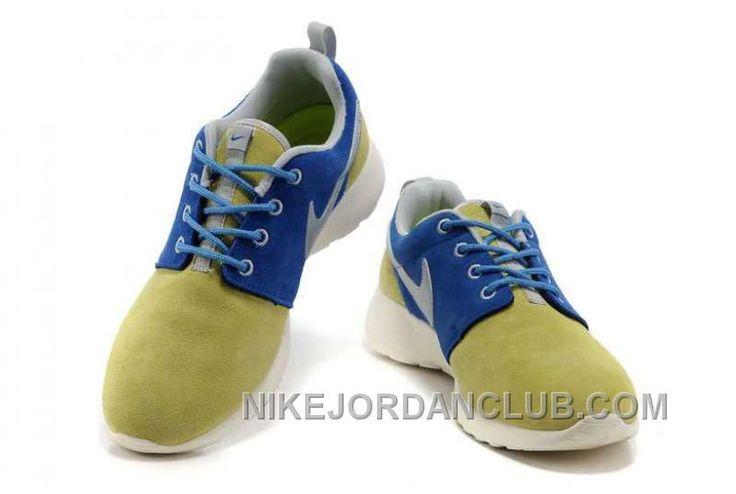 http://www.nikejordanclub.com/nike-roshe-run-suede-mens-wheat-blue-shoes-afpnn.html NIKE ROSHE RUN SUEDE MENS WHEAT BLUE SHOES AFPNN Only $72.00 , Free Shipping!