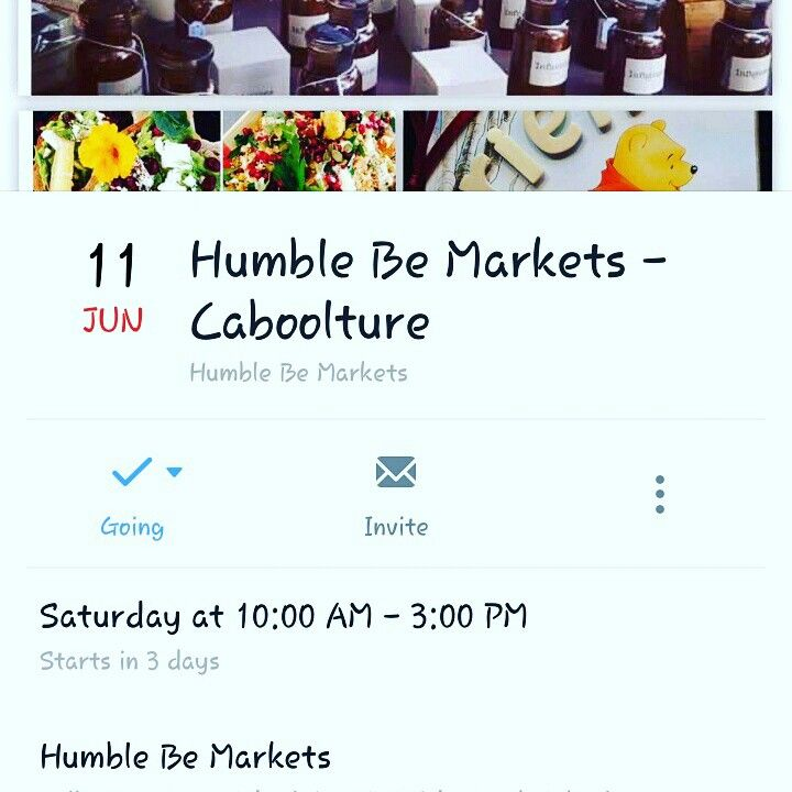 Humble be markets this weekend