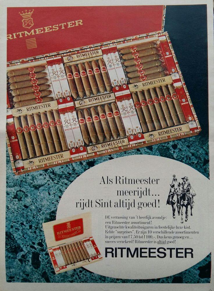 RITMEESTER sigaren, Sinterklaas advertentie 1968