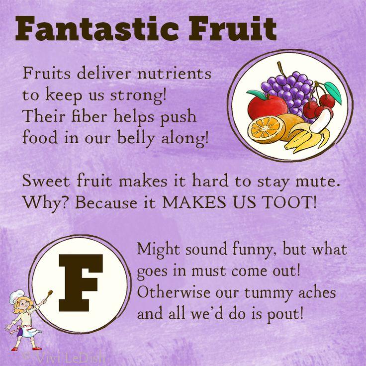 vivi ledish fantastic fruit poem for kids