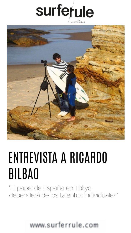 Cuando hablamos de Ricardo Bilbao, lo primero que nos viene a la mente es entrenamiento. Es el responsable de tecnificación de la Federación Cántabra de Surf .