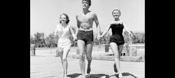 Clint Eastwood, Olive Sturgess y Dani Crayne