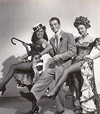 June Haver, Mark Stevens, and Martha Stewart in I Wonder Who's Kissing Her Now (1947)