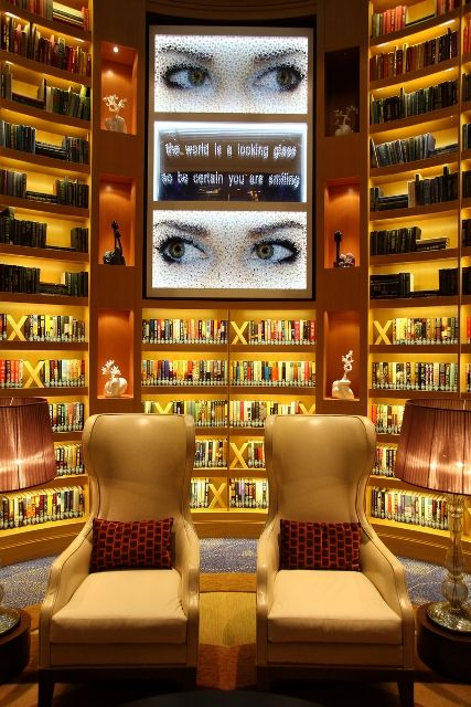 The Library - Celebrity Reflection