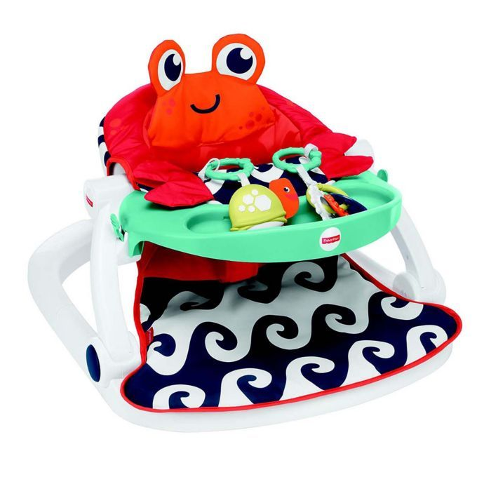 Fisher Price Crab Sit Me Up Floor Seat Buybuy Baby Fisher