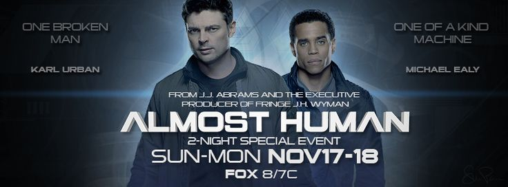 Almost Human Facebook Cover
