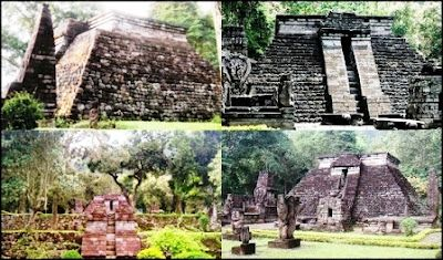 Sukuh Temple, a Hindu Temple of Central Java, Indonesia. The form of temple is similar with Mayan Pyramid. Incidentally????